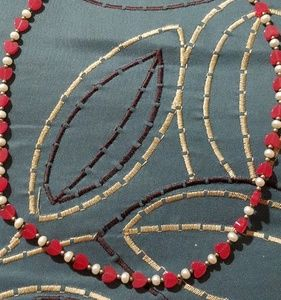 Heart and Pearl Necklace